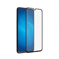 Защитное стекло 5D для Samsung Galaxy A40 Black