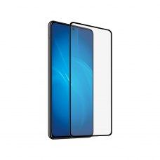 Защитное стекло 5D для Samsung Galaxy A71 Black