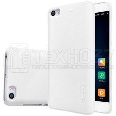 Чехол-бампер Nillkin Super Frosted Shield для Xiaomi Mi5 Белый
