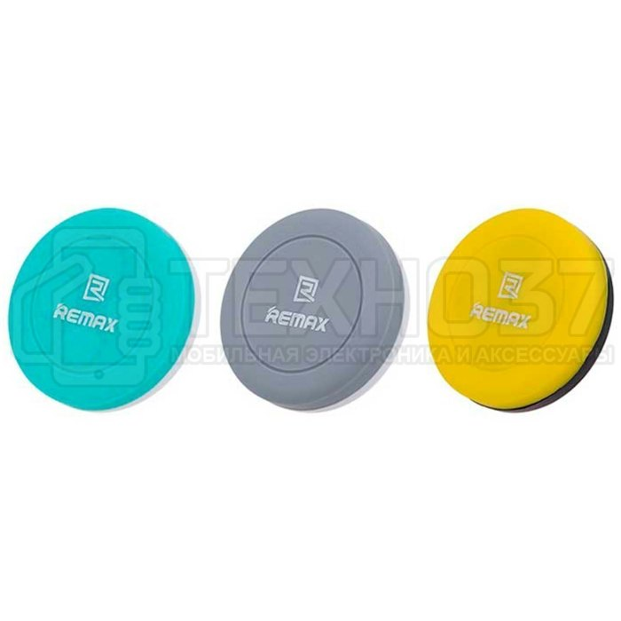 Магнитный Автомобильный Держатель Remax RM-C10 Черно-желтый