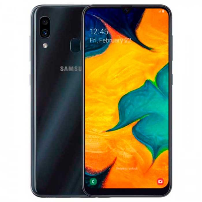 Смартфон Samsung Galaxy A30 3Gb + 32Gb Черный