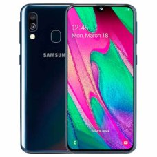 Смартфон Samsung Galaxy A40 4Gb + 64Gb Черный