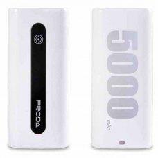 Портативный Аккумулятор Remax Proda E5 Series Powerbank 5000mAh White