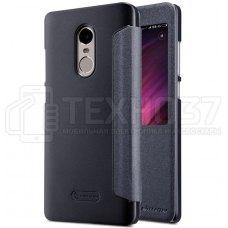 Чехол книжка Nillkin Sparkle Leather Case для Xiaomi Redmi Note 4X Black
