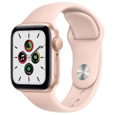 Умные часы Apple Watch SE 40mm Gold Aluminum Case with Pink Sand Sport Band