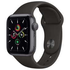 Умные часы Apple Watch SE 40mm Space Gray Aluminum Case with Black Sport Band