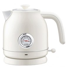 Чайник с Датчиком Температуры Xiaomi Qcooker Retro Electric Kettle White