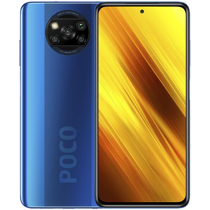 Смартфон Xiaomi POCO X3 NFC 6/128Gb Cobalt Blue Global Version