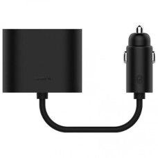 Разветвитель АЗУ Xiaomi Mi Roidmi Dual Port Converter Black
