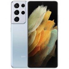 Смартфон Samsung Galaxy S21 Ultra 5G 12/128Gb Серебристый Фантом