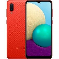 Смартфон Samsung Galaxy A02 2/32Gb Красный