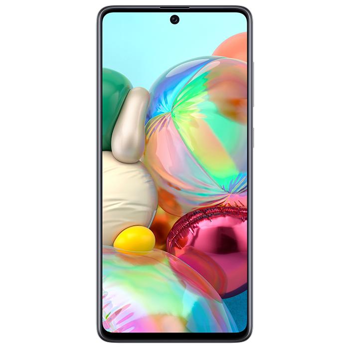 Смартфон Samsung Galaxy A71 6/128Gb Серебристый