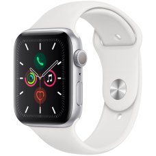 Умные часы Apple Watch S5 44mm Silver Sport Band