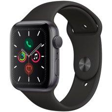 Умные часы Apple Watch S5 44mm Space Grey Sport Band