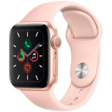 Умные часы Apple Watch S5 40mm Gold Sport Band