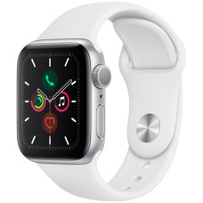 Умные часы Apple Watch S5 40mm Silver Sport Band