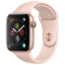Умные часы Apple Watch S4 Sport 40mm Gold Aluminum Case with Pink Sand Sport Band