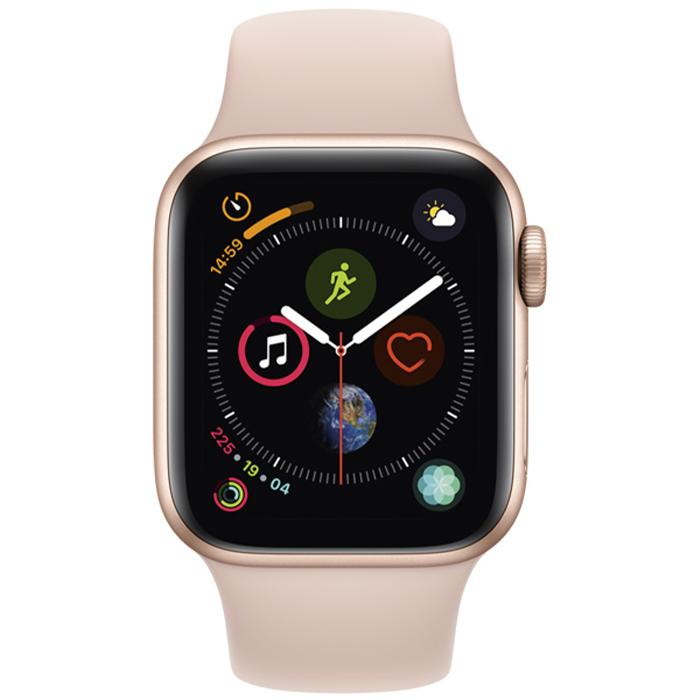 Умные часы Apple Watch S4 Sport 40mm Gold Aluminum Case with Pink Sand Sport Band
