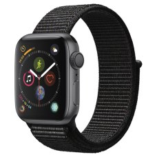 Умные часы Apple Watch S4 Sport 40mm Space Grey Aluminum Case with Black Sport Loop