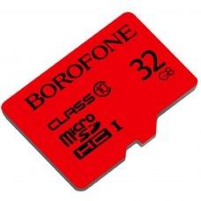 Карта памяти Borofone Micro SD Card Class 10 32Gb