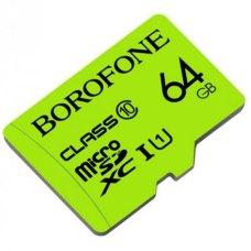 Карта памяти Borofone Micro SD Card Class 10 64Gb