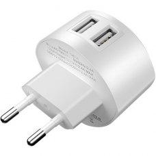 Сетевое зарядное устройство Hoco C67A White