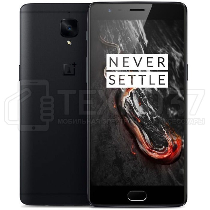 Смартфон OnePlus 3T 128Gb Black
