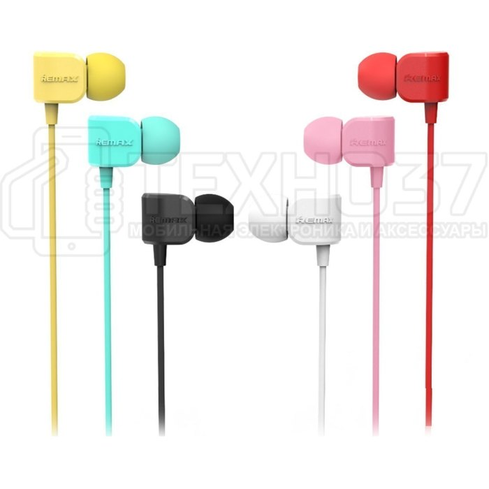 Наушники Remax Earphone RM-502 Black