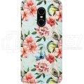 "Чехол-бампер для Xiaomi Redmi Note 4X ""Flowers"""