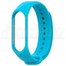 Силиконовый браслет для Xiaomi Mi Band 3 Blue
