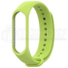 Силиконовый браслет для Xiaomi Mi Band 3 Green