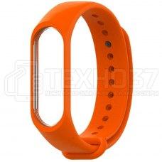 Силиконовый браслет для Xiaomi Mi Band 3 Orange