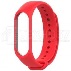 Силиконовый браслет для Xiaomi Mi Band 3 Red