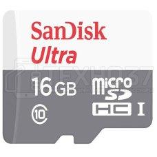 Карта памяти MICRO SDHC 16GB UHS-I SDSQUNS-016G-GN3MN SANDISK