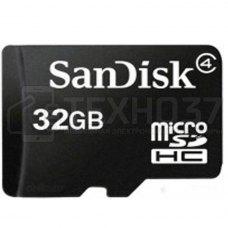 Карта памяти MICRO SDHC 32GB CLASS4 SDSDQM-032G-B35 SANDISK